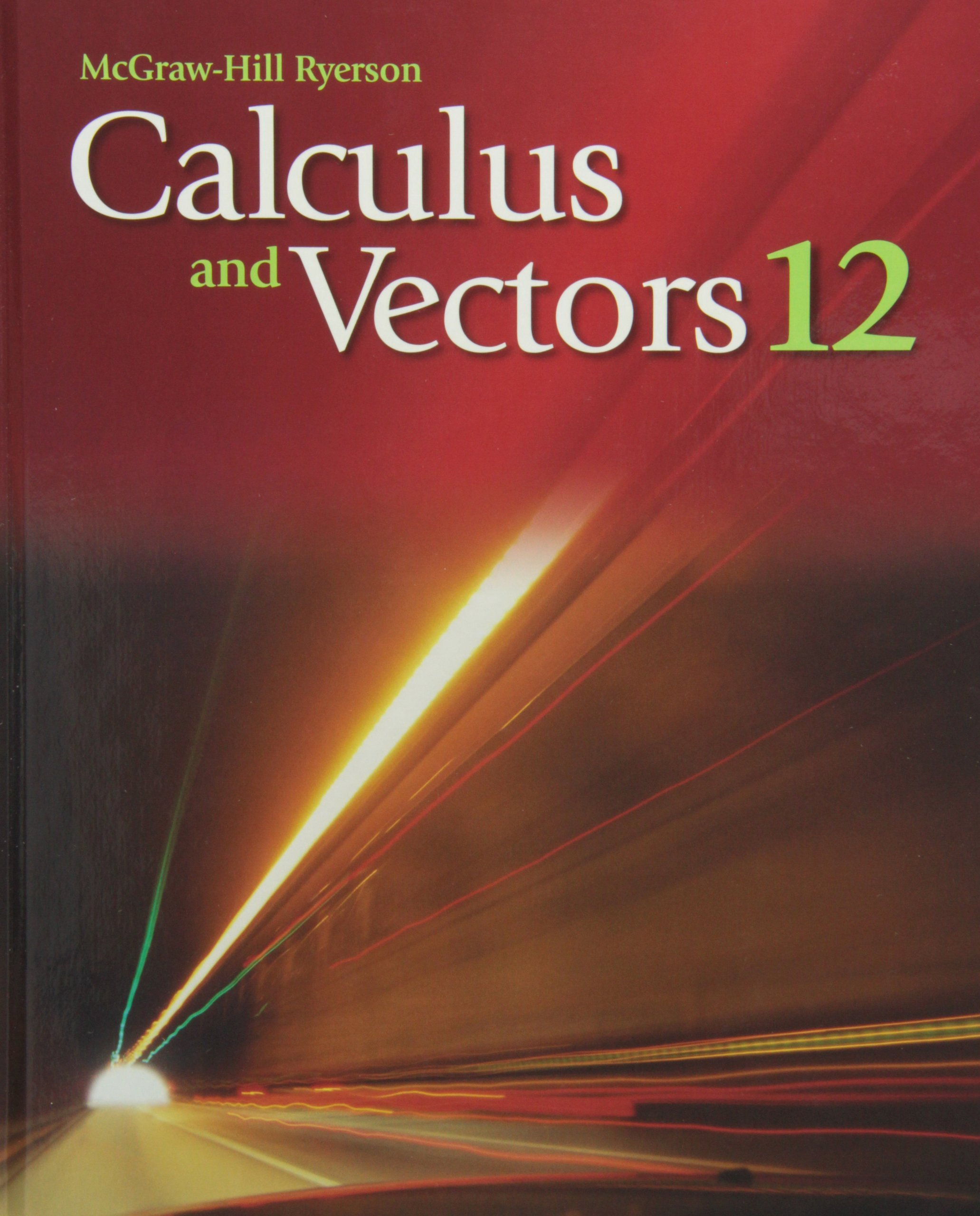 calculus and vectors 12 student edition bryce bates kirsten rh amazon ca Vector Research VT 300 Manual Car Vector