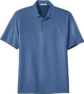 Port Authority Bamboo Charcoal Birdseye Jacquard Sport Shirt K498:  Amazon.co.uk: Clothing