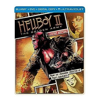 Amazon com: Hellboy II: The Golden Army (Steelbook) (Blu-ray