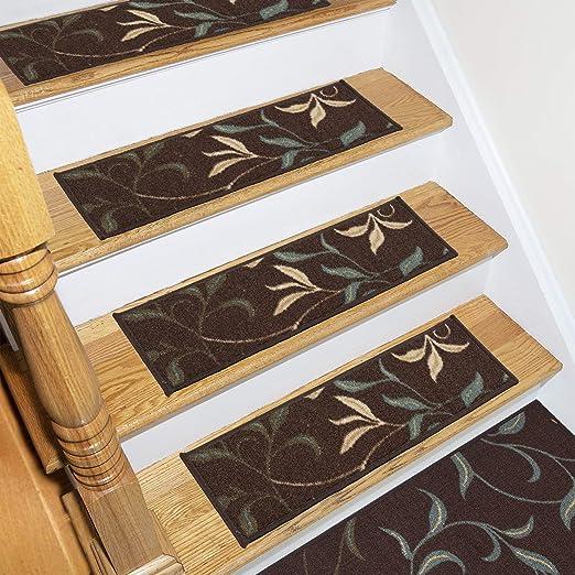 Ottomanson OTH2068-13 Stair Tread Brown 13 Pack