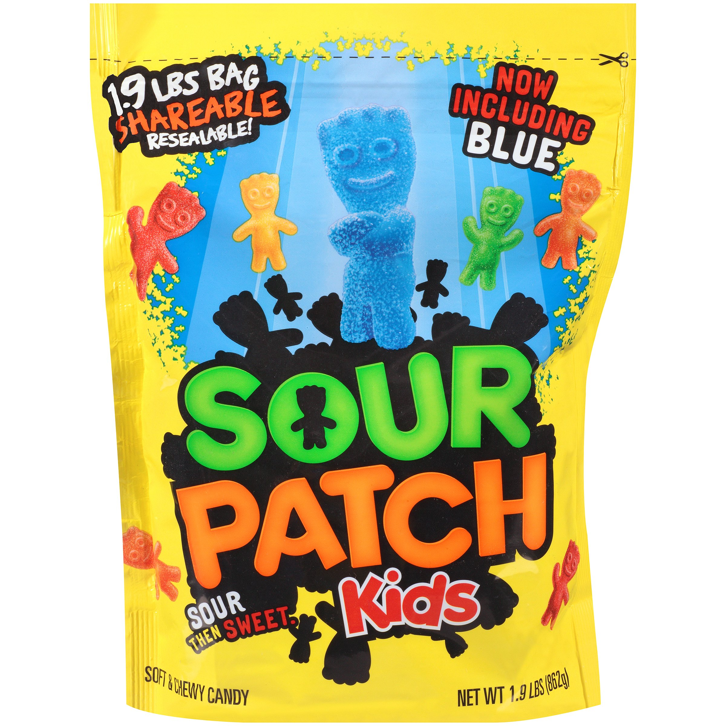 Sour Patch Kids Candy (Original, 30.4 Ounce Bag, Pack of 4) by Sour Patch