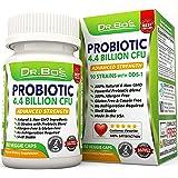Vegan Probiotics - Dr. Bo's Multi Probiotic for Women, Men and Kids - Daily Dairy Free Supplement with Natural Acidophilus, Bifidobacterium, Prebiotics and Oral Capsules - Non Refrigerated Flora Pills
