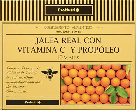PRONUTRI Two Pack Jalea Real con Vitamina C y Propóleo 10 viales