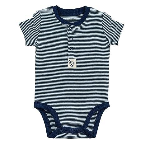 b792c72dd Amazon.com: Baby Boy Bodysuit Set, 3-Pack Kimono Bodysuits: Clothing