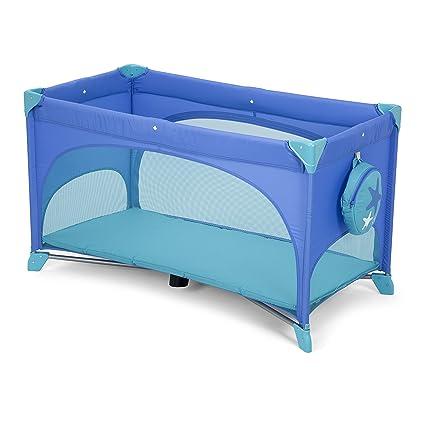 Chicco Easy Sleep - Cuna de viaje cómoda, con cierre de paraguas, 11,5 kg, color azul