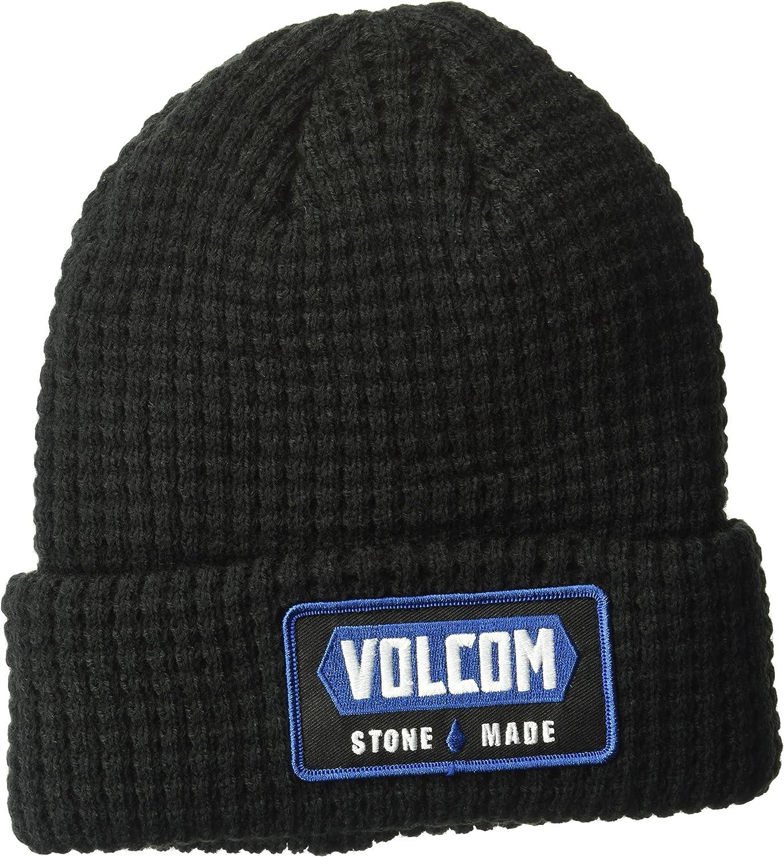 Volcom Shop Beanie Gorro, Hombre, Negro, Talla Única: Amazon.es ...
