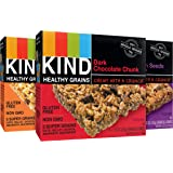 KIND Healthy Grains Bars, Variety Pack, Non GMO, Gluten Free, 1.2oz, 5 Count (Pack of 3)