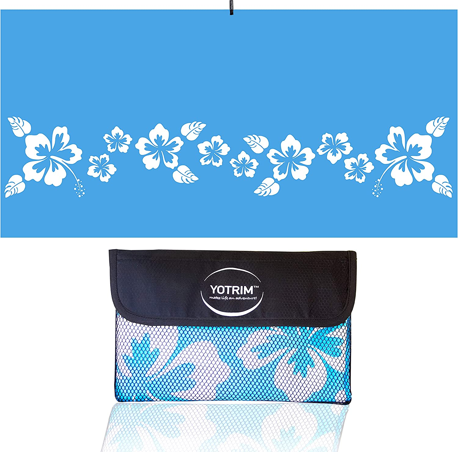 YOTRIM Microfiber Beach Towels for Travel - Quick Dry & Lightweight Towel for Swimmers - Sand Free Towel