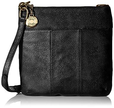 515b586ba86 Tommy Hilfiger Crossbody Bag for Women Signature, Black: Handbags ...