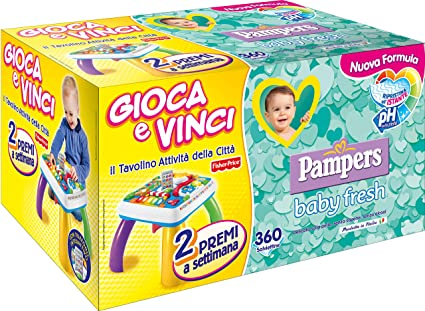 Pampers Baby Fresh 360pieza(s) toallita húmeda para bebé - Toallitas húmedas para bebé