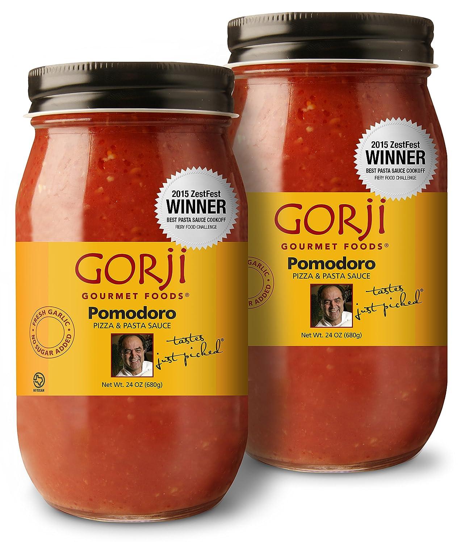 Gorji Gourmet Pomodoro Pizza & Pasta Sauce 24 oz (Pack of 2)