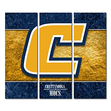 Amazon.com : Tennessee Chattanooga University Mocs Canvas Wall Art ...