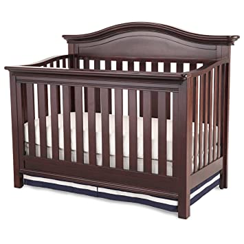 Simmons Kids Augusta Crib U0027Nu0027 More, Molasses