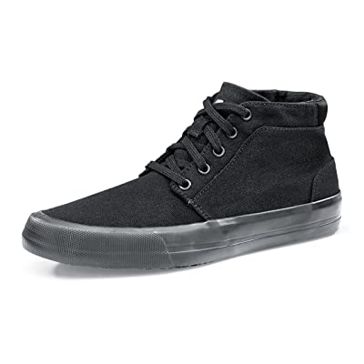 Chaussures pour Crews 34702–39/6Style Cabbie II antidérapant pour femme High Top Baskets, taille 6, noir