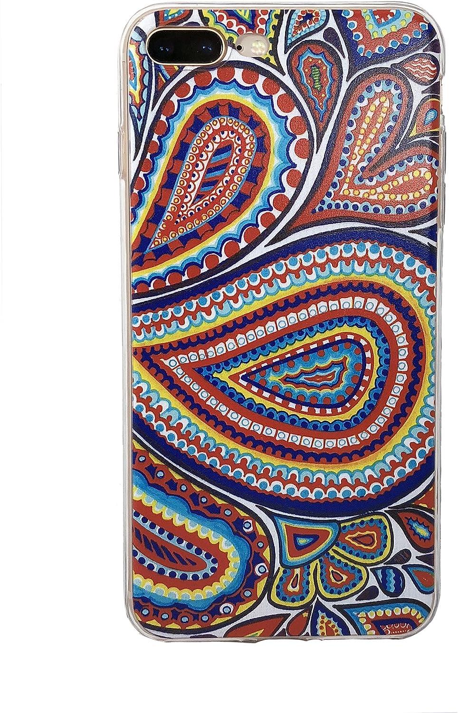 Amazon Com Iphone 7 Plus Case Floral Iphone 8 Plus Case Floral