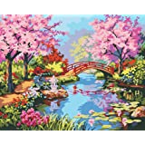 Paint by Numbers-DIY Digital Canvas Oil Painting Adults Kids Paint by Number Kits Home Decorations- Xanadu 16 * 20 inch