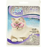 Feline Soft Claw Nail Caps S SLV Sprk