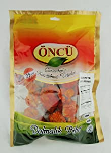 Oncu Dried Vegetable for Stuffing (Dried Pepper, Single Bag (25 Piece))