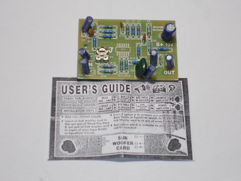 Soumik Electricals Subwoofer Filter Board Electronics Passive Tone Control Circuit