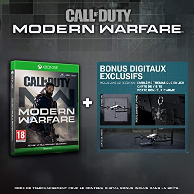 Call of Duty: Modern Warfare - Edition Exclusive Amazon - Xbox One ...