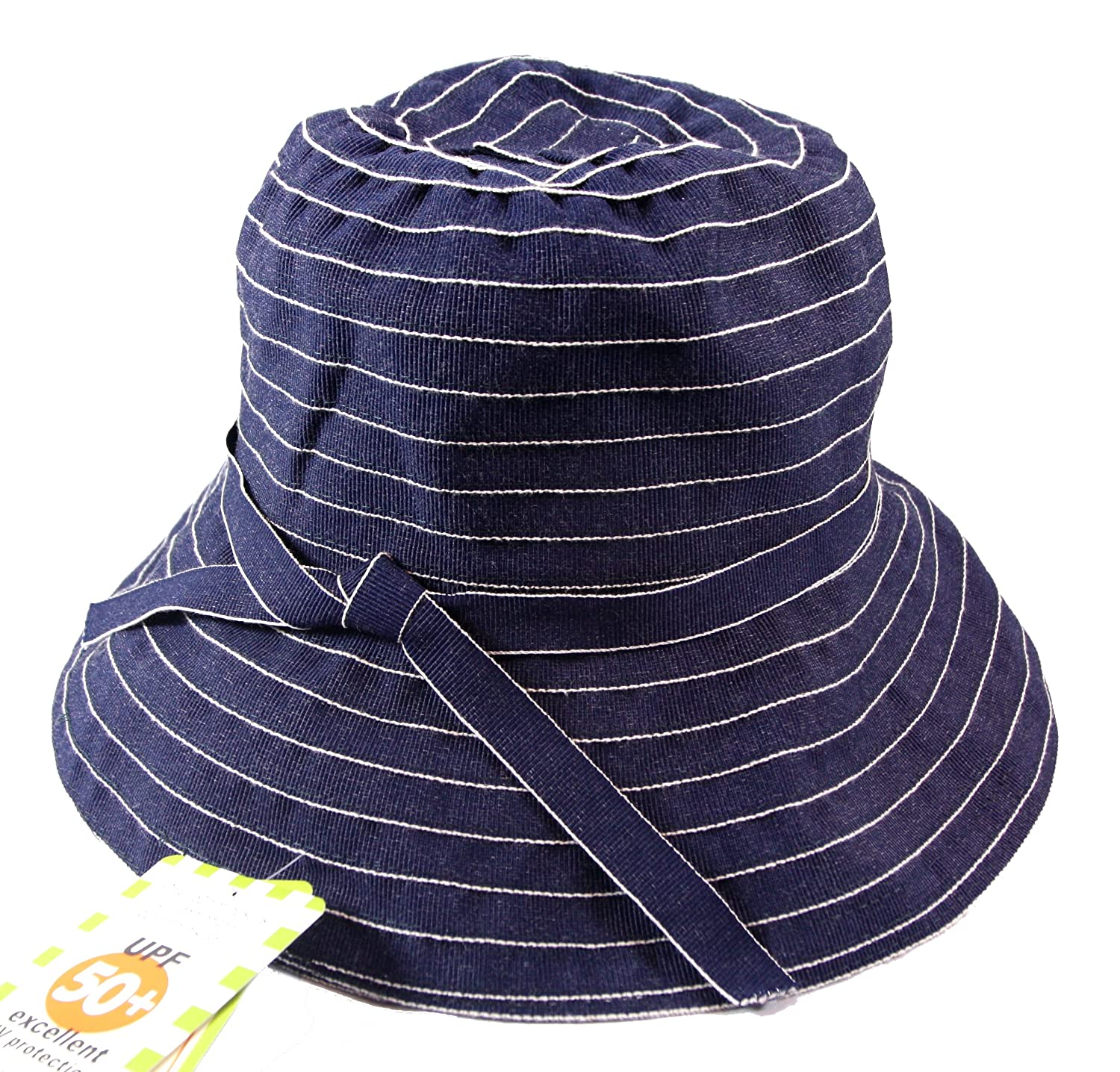 Amazon.com   Jeanne Simmons Twill Travel Bucket Hat for Women - UPF 50+ UV  Sun Protection (Blue Denim)   Beauty a5c3b002324