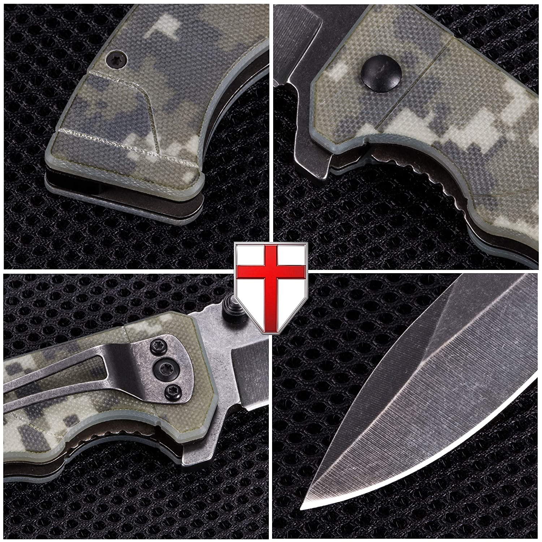 Amazon.com: Cuchillo EDC plegable de bolsillo – Cuchillo ...