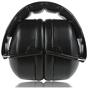 ClearArmor 141001 Safety Ear Muffs Shooters Hearing Protection Folding-Padded Head Band Ear Cups