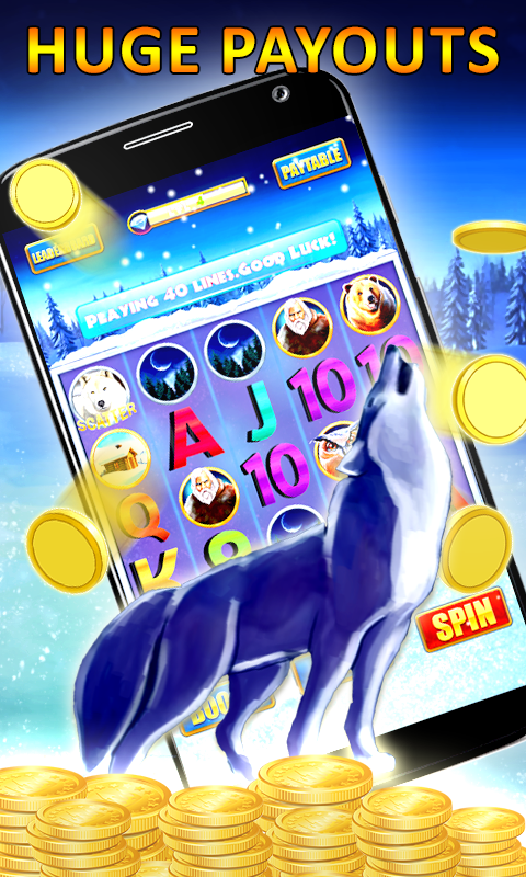 Aristocrat s Timberwolf Slot Machine in Action