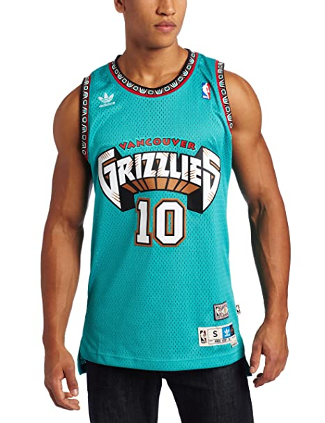 best service 1b1aa c0af2 Mike Bibby Vancouver Grizzlies Adidas Throwback Jersey ...