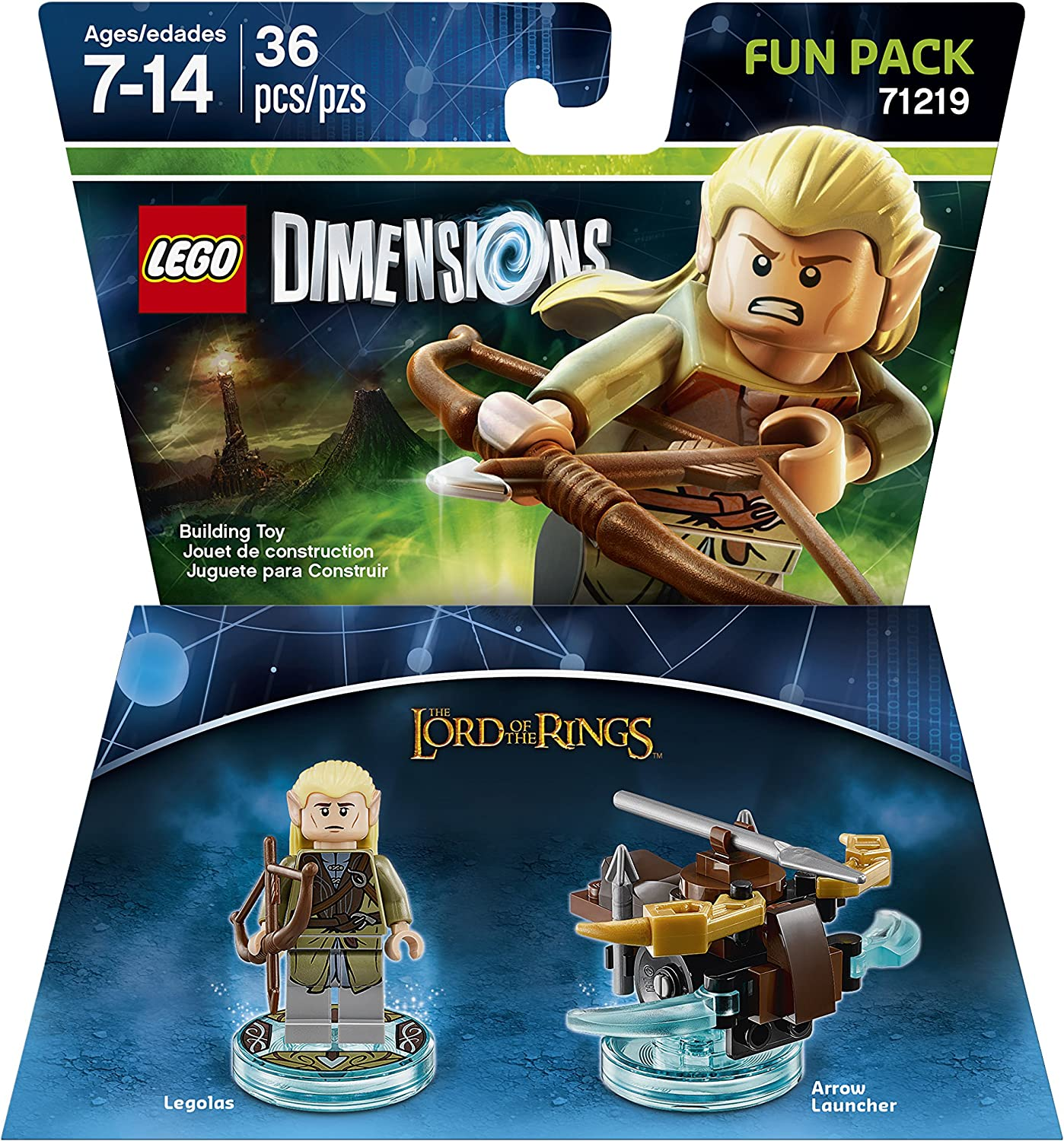 Lord Of The Rings Legolas Fun Pack - LEGO Dimensions by Warner Home Video - Games: Amazon.es: Juguetes y juegos