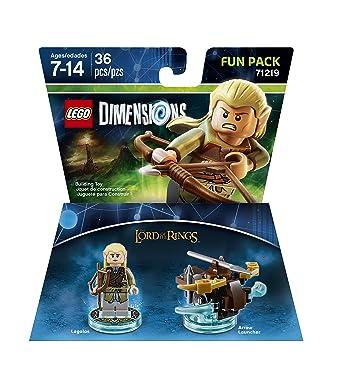 BOITE SET LEGO DIMENSIONS FUN PACK 71219 LE SEIGNEUR DES ANNEAUX LEGOLAS ELF