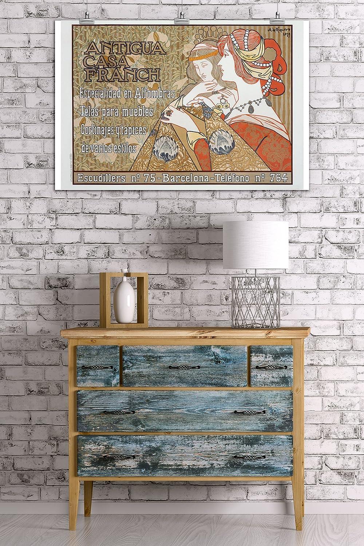 Amazon.com: Antigua Casa Franch Vintage Poster (artist ...