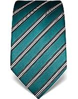 VB–Cravatta Uomo Seta a Righe–Molti colori disponibili