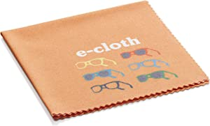 E-Cloth Glasses Microfiber Cleaning Cloth for Cleaning Eyeglasses & Sunglasses