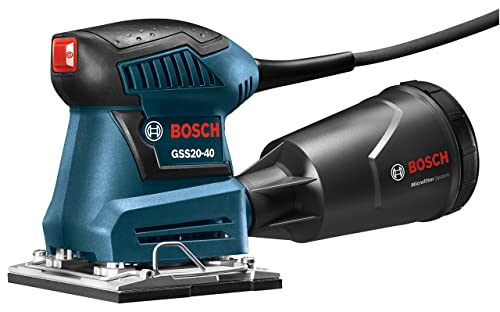 Bosch GSS20-40 Orbital Finishing Sander 1 4-Sheet
