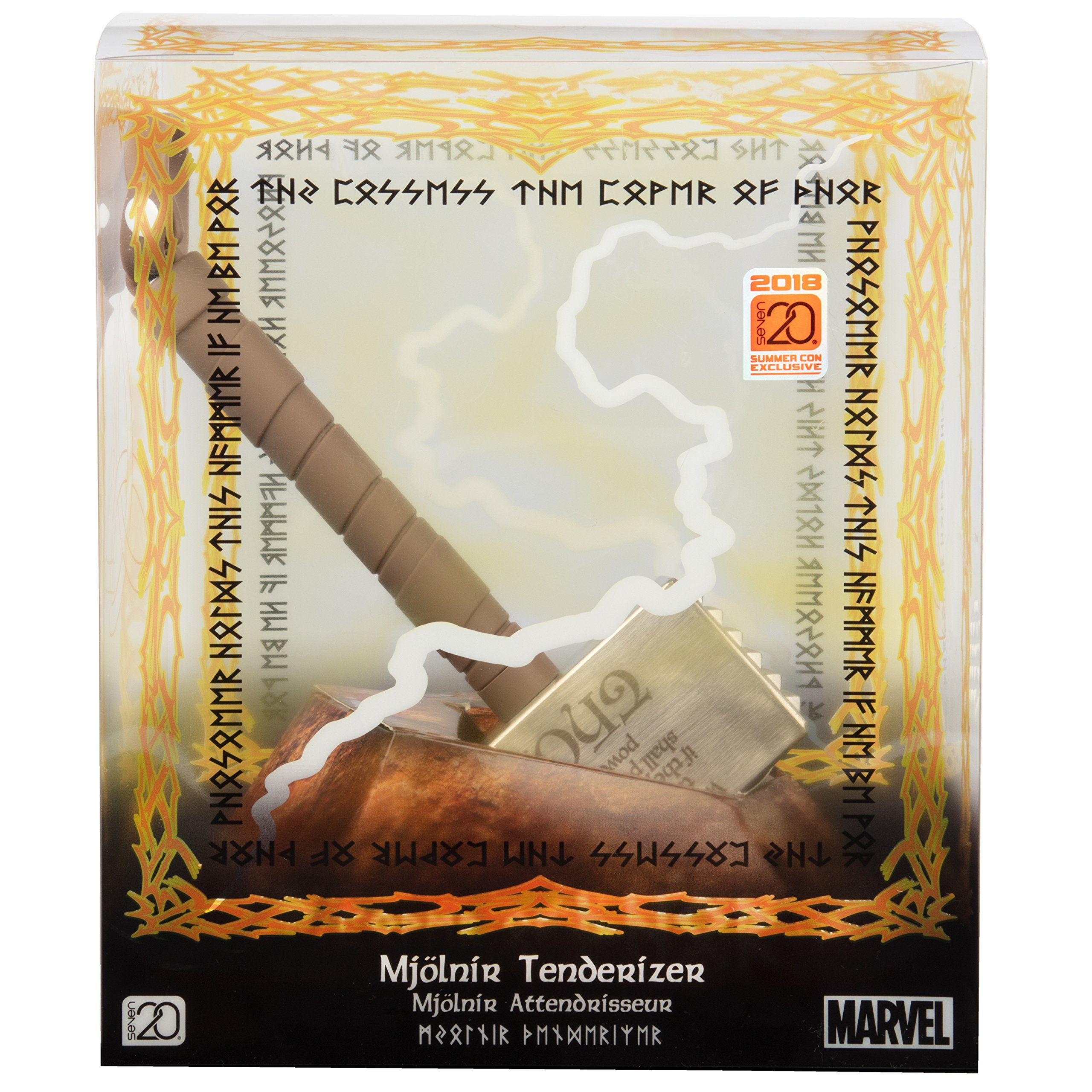 Seven20 Marvel Thor Mjolnir Meat Tenderizer - 2018 San Diego Comic Con Exclusive - Tenderize Your Meat with The Power of A God by Seven20