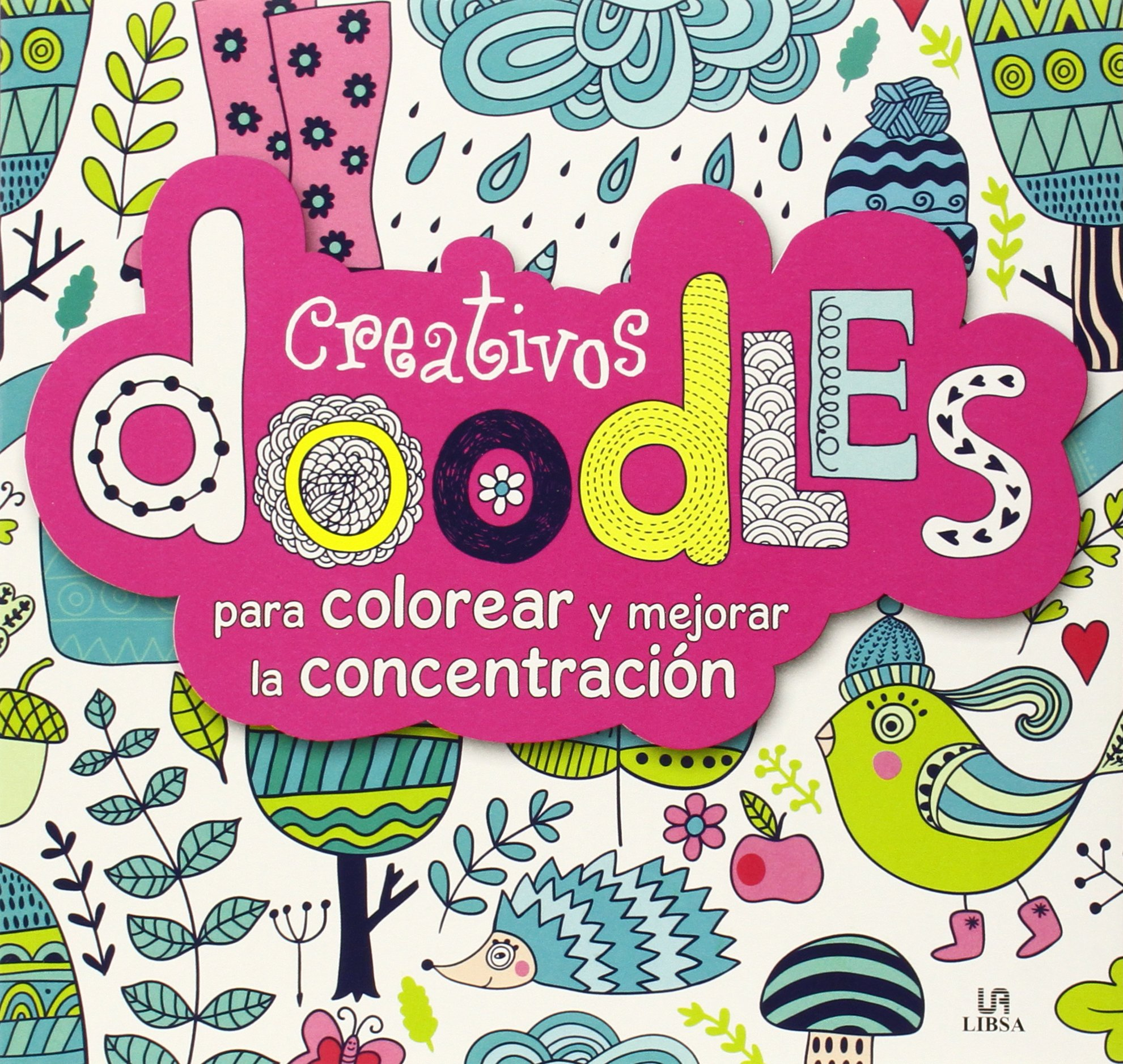 Creativos doodles para Colorear y Mejorar la Concentracion Terapia ...