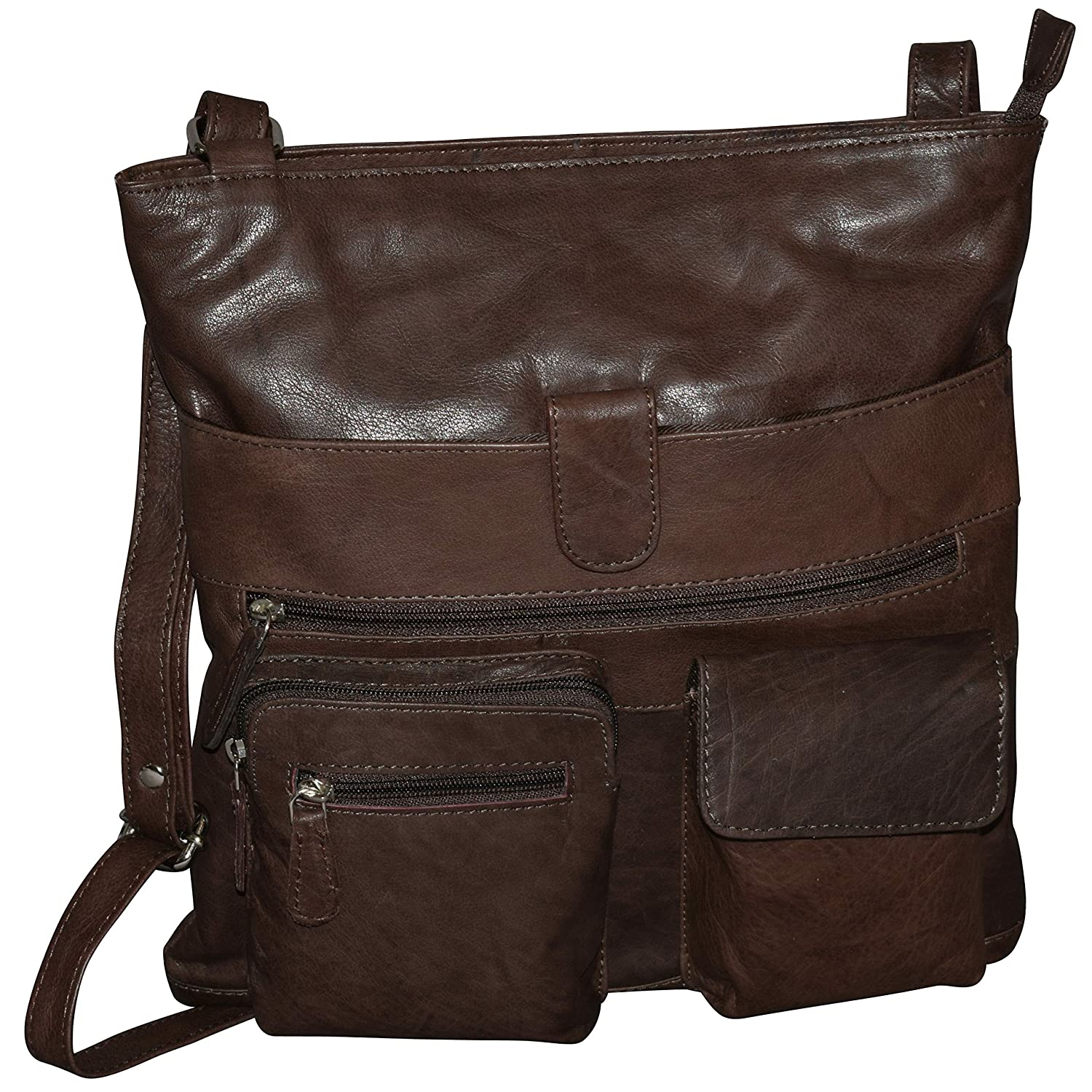 cheap for sale entire collection catch Women's Genuine Leather Large Crossbody Bag-Messenger Bag