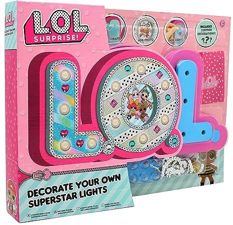 d39016b7512 L.O.L. Surprise ! Luz de Noche para Niña Lamparas Mesilla Munecas LOL  Glitterati Series