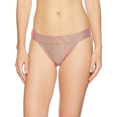 Brand - Mae Women's Swimwear Castaway Banded Bikini Bottom: Clothing