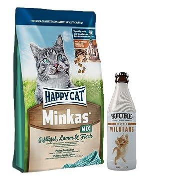 Happy Cat minkas Mix 10 kg + 1 x tjure frecher Wild Fang