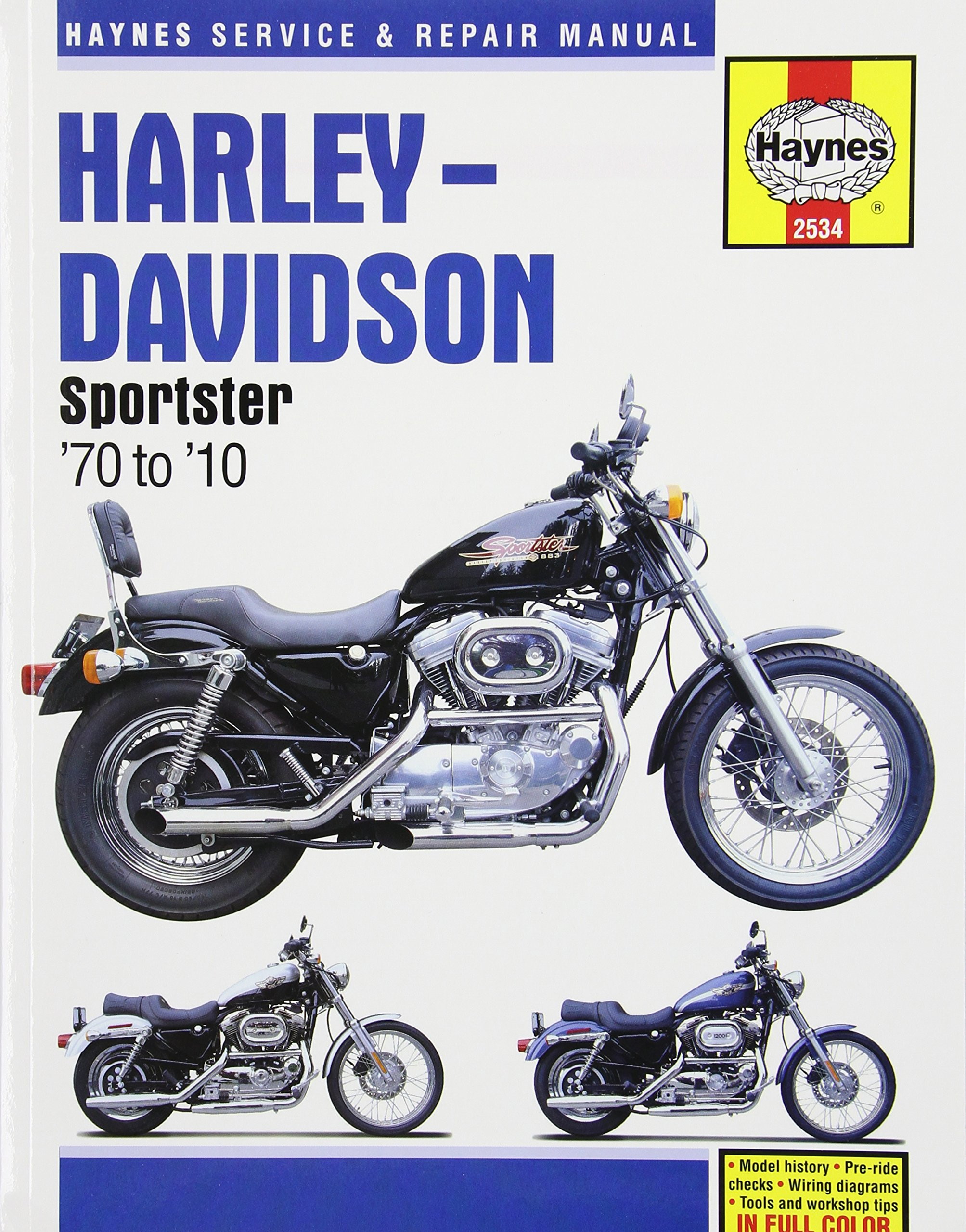 Harley Davidson Sportster (Haynes Service & Repair Manual ... on