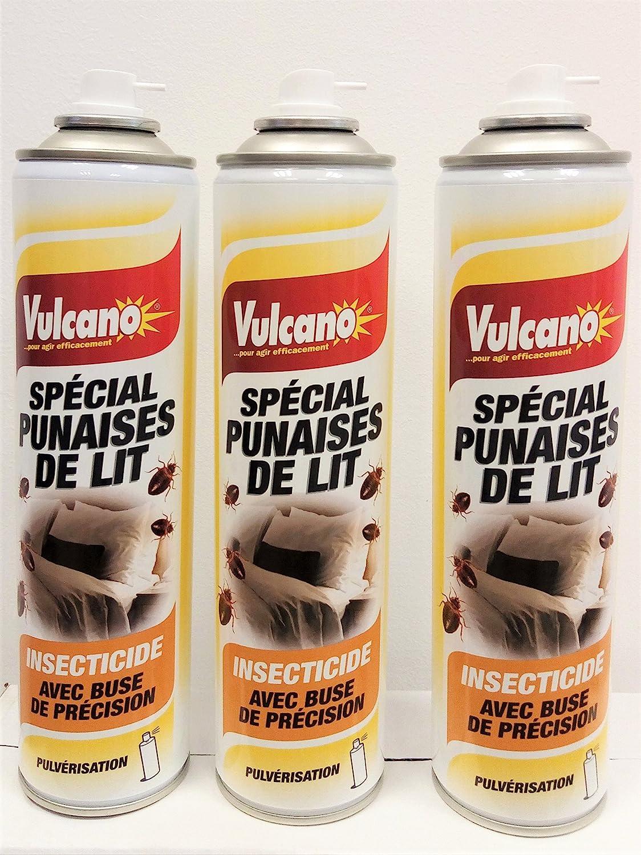 Producto insecticida chinchetas de cama especial Pro pulverisation–Juego de 3bombas