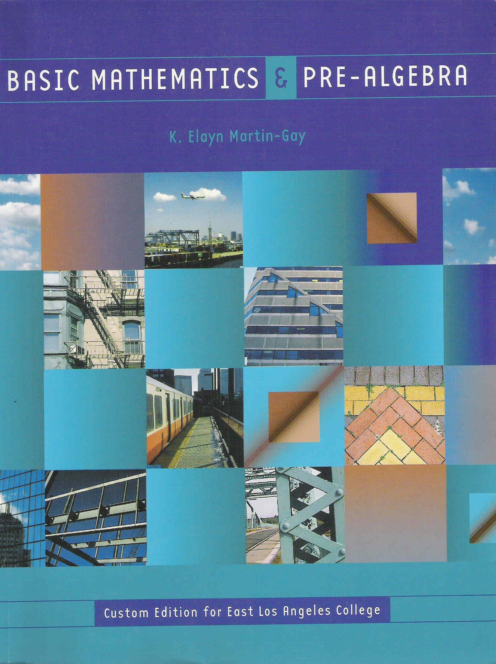 Basic Mathematics & Pre-algebra (Custom Edition for East Los Angeles ...