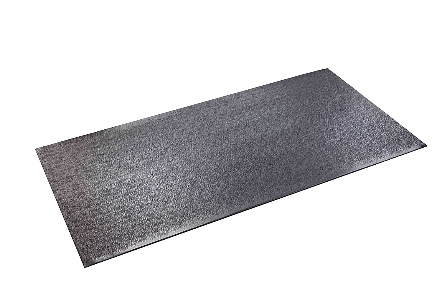 SuperMats High Density Commercial Grade Solid Equipment Mat 40GS Made in U.S.A. for Cardio Equipment Recumbent Bikes and General Floor Mat Needs (2.5 Feet x 5 Feet) (30 in x 60 in)