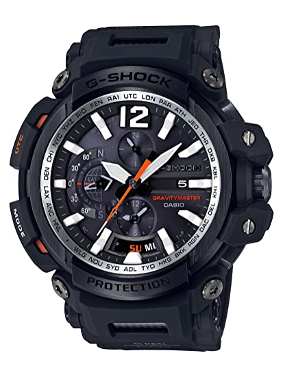 77d56ee057 Amazon.com: Casio 2018 GPW2000-1ACR Watch G-Shock BLE/GPS MB6-AS ...