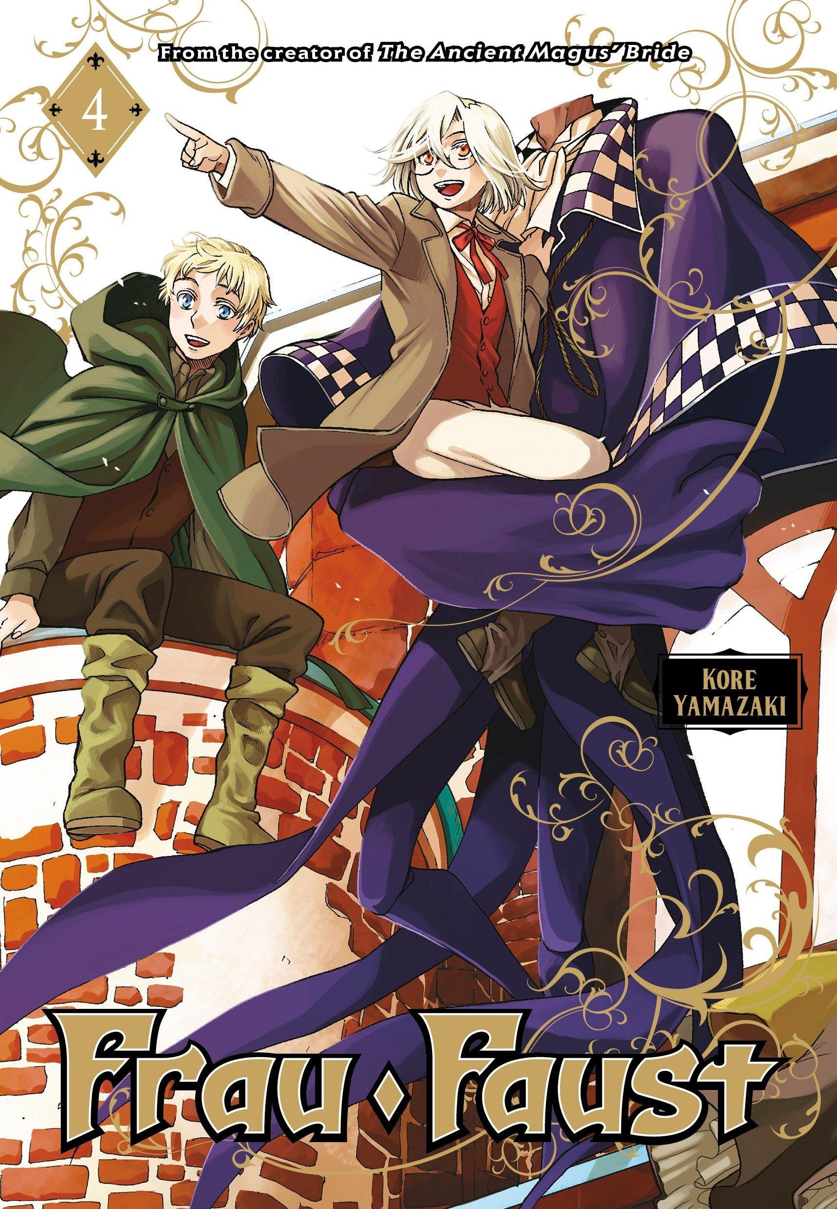 Frau Faust 4 (Inglese) Copertina flessibile – 6 mar 2018 Kore Yamazaki Kodansha Comics 1632365502 Comics & Graphic Novels