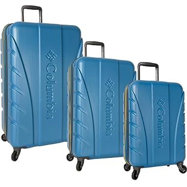 Columbia 3 Piece Hardside Spinner Luggage Set1
