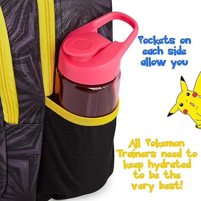 Zainetto Paillettes Reversibili Motivo Pikachu E Pokeball Borsa Cartella Scuola Sequin Viaggio Tempo Libero Idea Regalo Picaciu Pokemon Per Bambini E Ragazzi Pokemon Zaino Scuola Elementare Bimbo