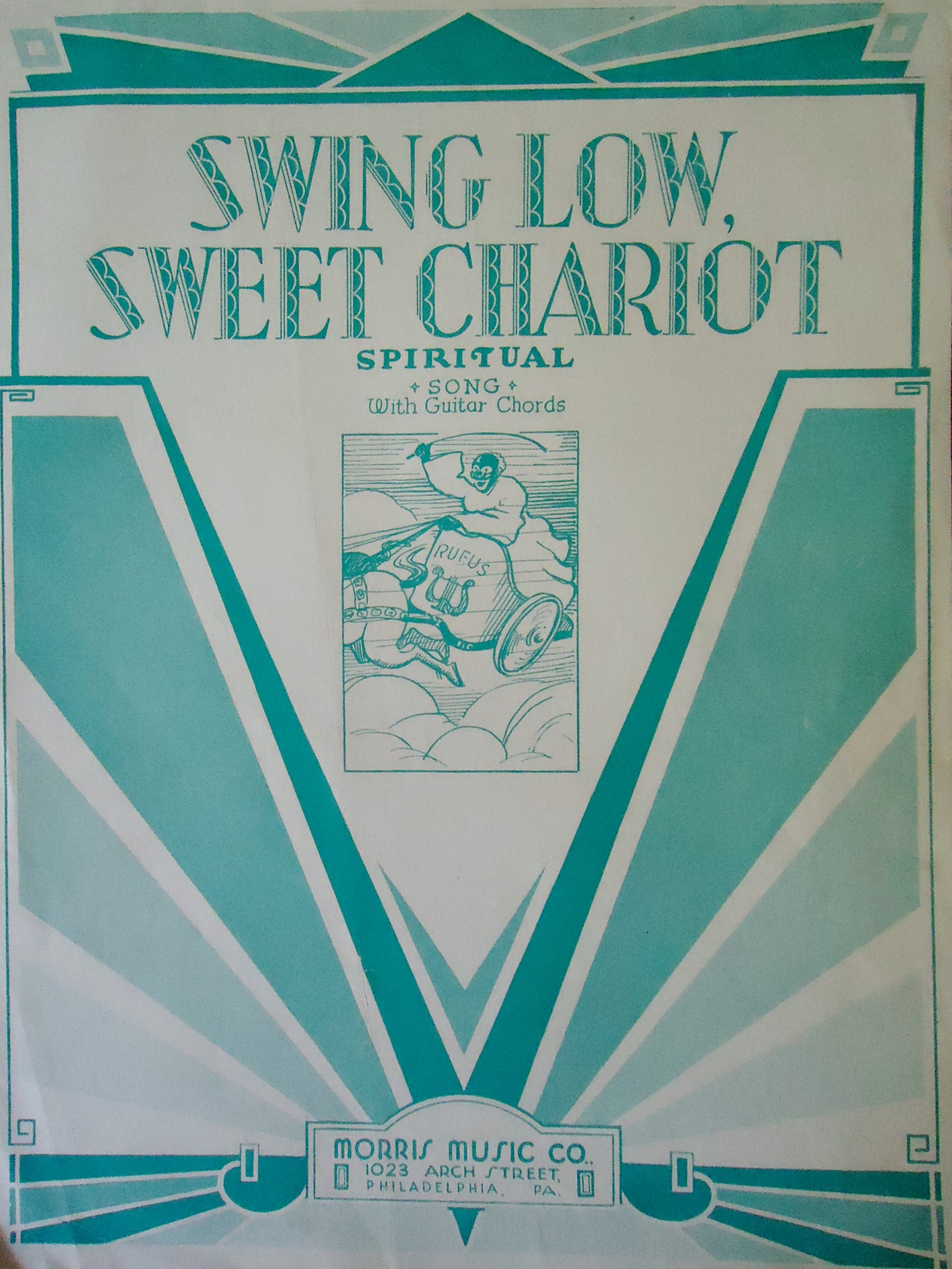 Amazon Swing Low Sweet Chariot Spiritual Song With Guitar